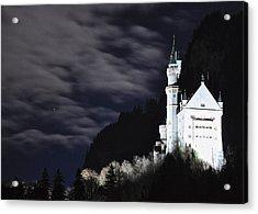 Ludwig's Castle At Night Acrylic Print by Matt MacMillan