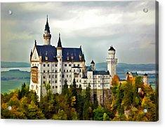 Neuschwanstein Castle In Bavaria Germany Acrylic Print