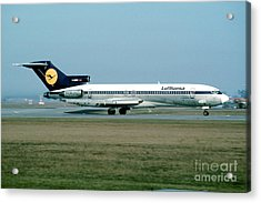 Lufthansa Boeing 727 Acrylic Print