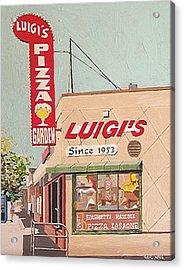 Luigi's Acrylic Print by Paul Guyer
