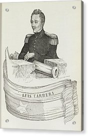 Luis Carrera Acrylic Print by British Library
