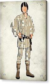 Luke Skywalker - Mark Hamill  Acrylic Print