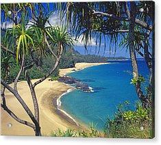 Lumahai Beach Acrylic Print