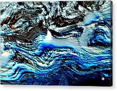 Acrylic Print featuring the digital art Lumenittoral by Richard Thomas