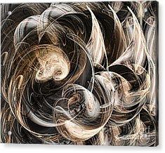 Luminance In The Dark Acrylic Print by Leona Arsenault