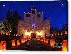 Luminaria Saint Francis De Paula Mission Acrylic Print