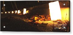 Acrylic Print featuring the photograph Luminaries by Andrea Anderegg