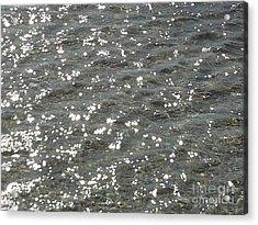 Luminary Sea Acrylic Print by Katerina Kostaki