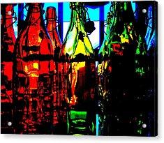 Luminosity Acrylic Print by Rosemarie Hakim