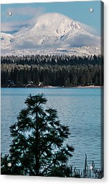 Luminous Lassen Acrylic Print by Jan Davies