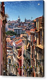 Luminous Lisbon Acrylic Print by Carol Japp