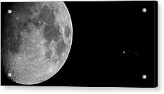 Acrylic Print featuring the photograph Luna And Jupiter by Jason Politte