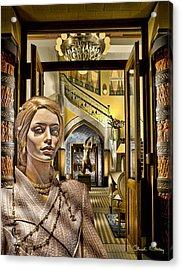 Luna At The Prague Hotel Acrylic Print
