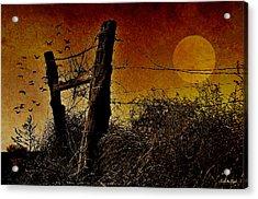 Luna De Sangre Acrylic Print by Karen Slagle