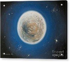 Luna Acrylic Print by Katharina Filus