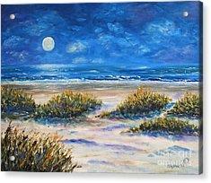 Lunar Beach Acrylic Print