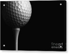 Lunar Golf Acrylic Print