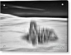Lunar Landing - A Tranquil Moments Landscape Acrylic Print by Dan Carmichael