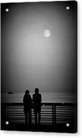 Lunar Romance Acrylic Print
