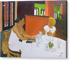 Lunch At Olivadi's  Acrylic Print