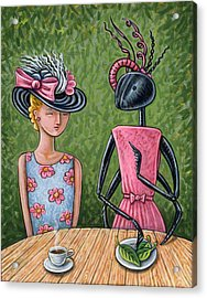 Lunch With A Favorite Ant Acrylic Print by Holly Wood