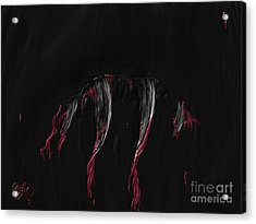 Acrylic Print featuring the painting Lupercalia  by Roxy Riou