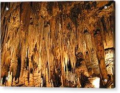 Luray Caverns - 1212136 Acrylic Print by DC Photographer