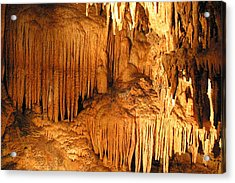 Luray Caverns - 1212163 Acrylic Print by DC Photographer