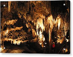 Luray Caverns - 121261 Acrylic Print by DC Photographer