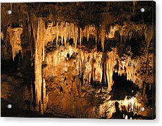 Luray Caverns - 121262 Acrylic Print by DC Photographer