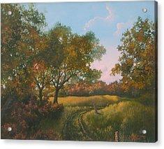 Luray Pasture Acrylic Print