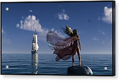 Lure Of The Siren... Acrylic Print by Tim Fillingim