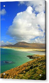 Luskentyre Beach  Acrylic Print by The Creative Minds Art and Photography