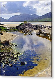 Acrylic Print featuring the photograph Luskentyre Dream by Jacqi Elmslie