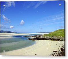 Acrylic Print featuring the photograph Luskentyre Paradise by Jacqi Elmslie