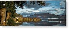 Luss Loch Lomand Acrylic Print