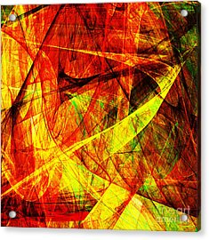 Lust 20130512 Square Acrylic Print by Wingsdomain Art and Photography