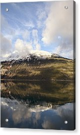 Lutak Inlet Reflections Acrylic Print by Michele Cornelius