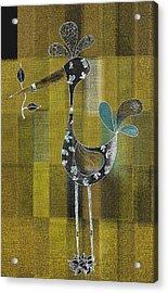 Lutgarde's Bird - 061109106gb Acrylic Print