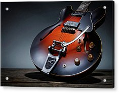 Luther Dickinson Signature Gibson Acrylic Print