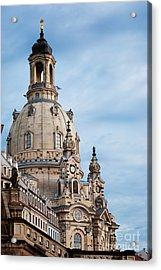 Lutheran Church In Dresden Acrylic Print by Jelena Jovanovic