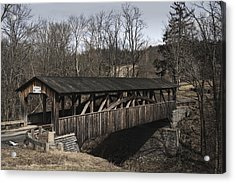 Luther's Mill Covered Bridge Acrylic Print