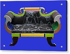 Luv Seat Acrylic Print