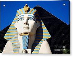 Luxor Las Vegas Sphinx Acrylic Print