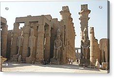 Luxor Temple Acrylic Print
