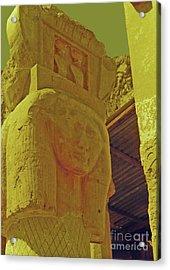 Luxor Temple Acrylic Print by Elizabeth Hoskinson