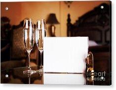 Luxury Hotel Room Acrylic Print