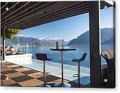 Luxury Swiss View Acrylic Print