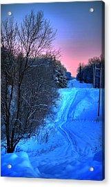 Lwv50008 Acrylic Print by Lee Wolf Winter