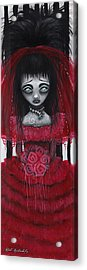 Lydia Acrylic Print by  Abril Andrade Griffith